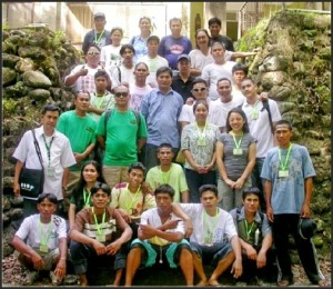 Bat workshop participants at Mambukal Summer Resort