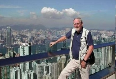 2008 photo of Hugh Van Es in Hong Kong