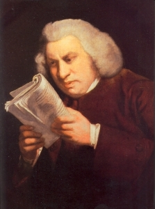 Samuel Johnson - a man of letters