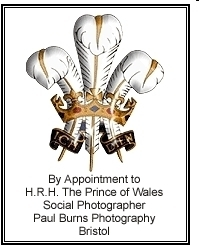 Royal Warrant for  a royal photographer