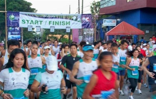 Start of the 10k run