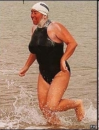 Allison Streeter. She's swum the English Channel 43 times