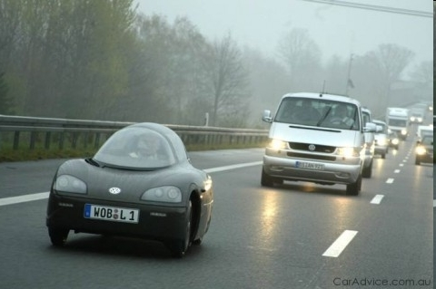 The Volkswagon L1 - 109 km per liter of gas