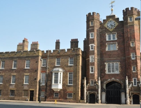 Historic St. James' Palace - rooms available for corporations