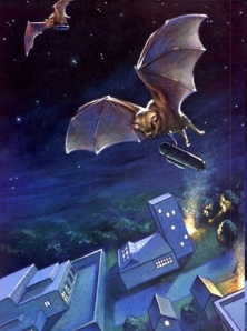 A bat bomber at work