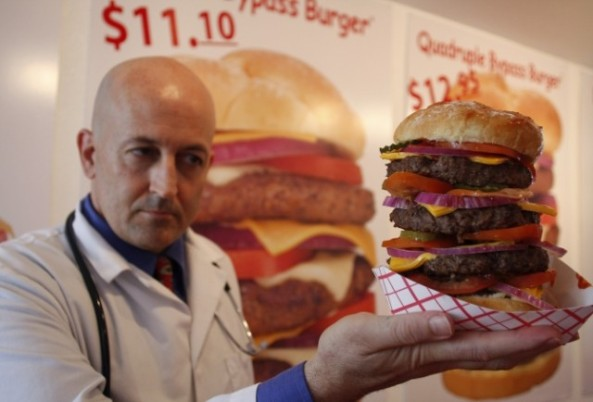 Heart Attack Grill owner Jon Basso