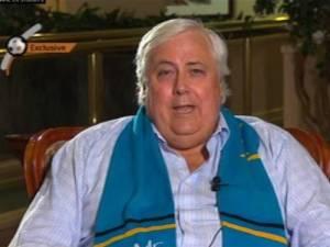 Australian billionaire Clive Palmer