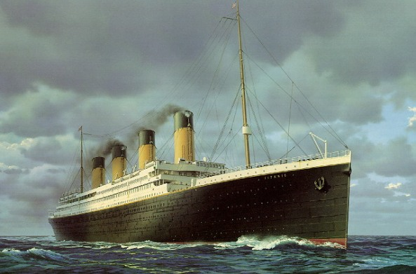 The original ill-fated RMS Titanic