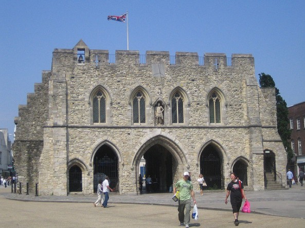 Southampton's historic 'Bargate' constructed more than a thousand years ago