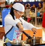 2012 Bacolod Young Master Chef Competition: Dianne Alexa Chua, a ten year-old Grade 4 student from St. Scholastica Academy in Bacolod, won First Runner-Up in the recent children's cooking competition at SM Bacolod.