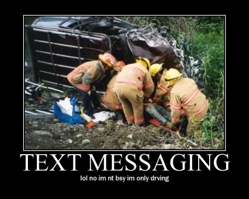 Texting can wait