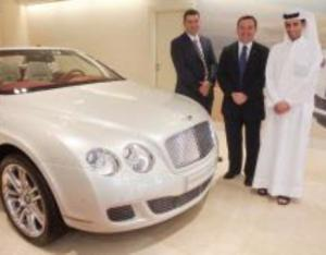 Bentley cars - so beloved by Arab sheikhs