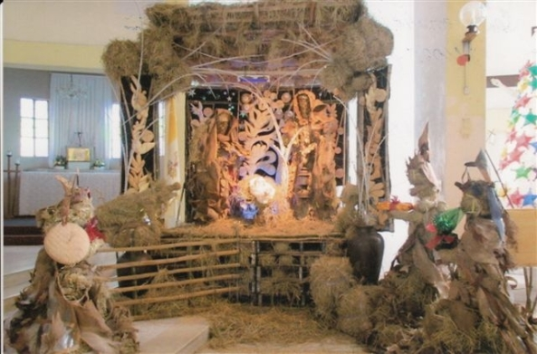 The award for the Most Creative and Innovative Belen went to the San Antonio Abad Church in Taculing