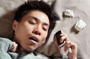 Sleep texting - on the rise