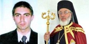 Madalin Ciculescu and Bishop Argatu