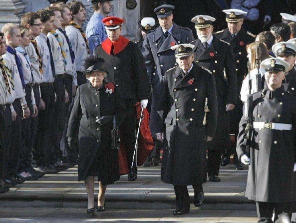 The Royal family pays tribute