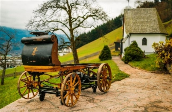 Built in 1898, the P1 was the very first Porsche
