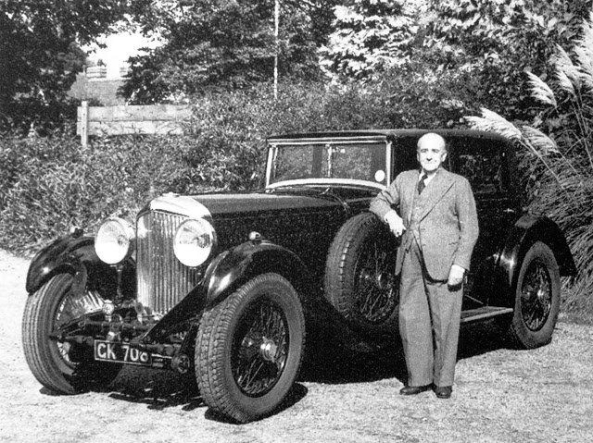 W O Bentley - the man who started it all in 1919