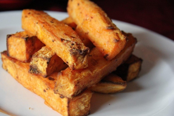French fries as served at Britain's White Rabbit pub. At Php45 a fry, they must be the country's most expensive
