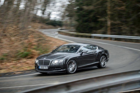 The Bentley Continental GT Speed - an electrifying combination of luxury, power and performance.