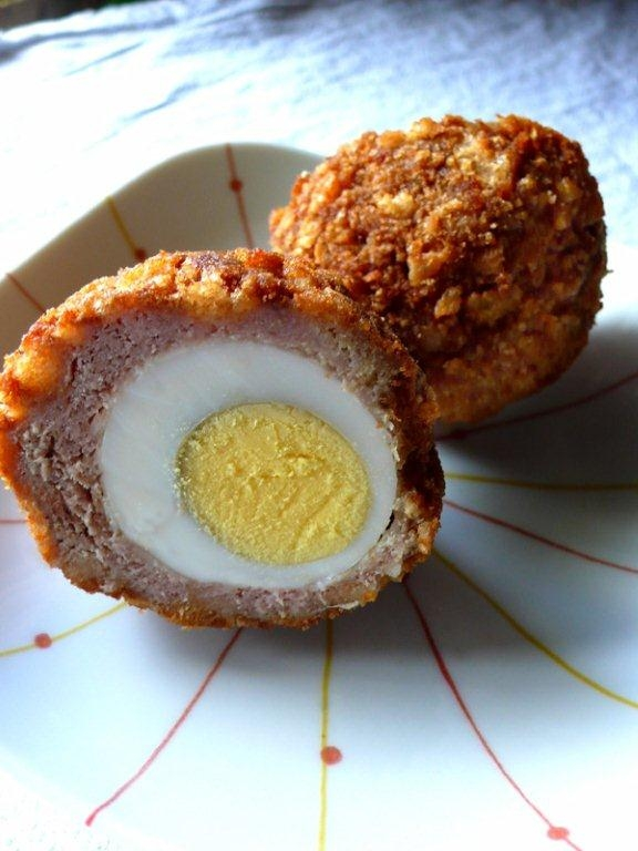 Scotch eggs - tasty pica-pica a food