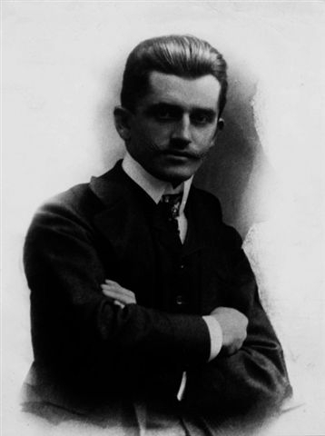 Fedinand Porsche as a young man